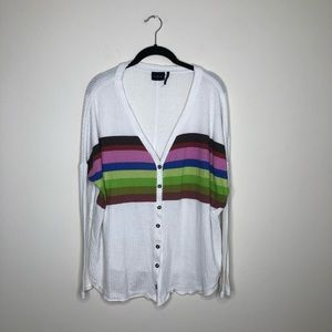 Urban Outfitters Out From Under striped cardigan